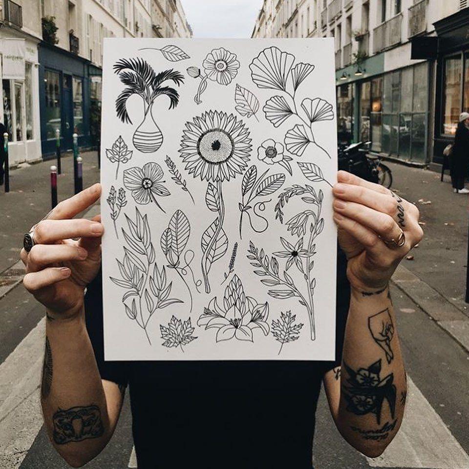 🖋 [ TATTOO : @anaisduboistattoo ] 🖋  No Standing Only Tattooing  13h - 22h 💥22 mars @labellevilloise  Premier arrivé, premier servi :-) . #tattoovillage #village #tattoo #labellevilloise #tatouage #paris #flashday #tattooartist #tattooevent #paristattoo #inkedgirl #inkedboy #flashtattoo #parisienne #parisien #tattooart #flashdaytattoo #2019 #festival #festivaltatouage #convention #conventiontattoo