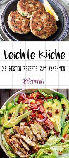 Leichte Küche 3 fixe Rezepte für genussvolles Abnehmen Low carb