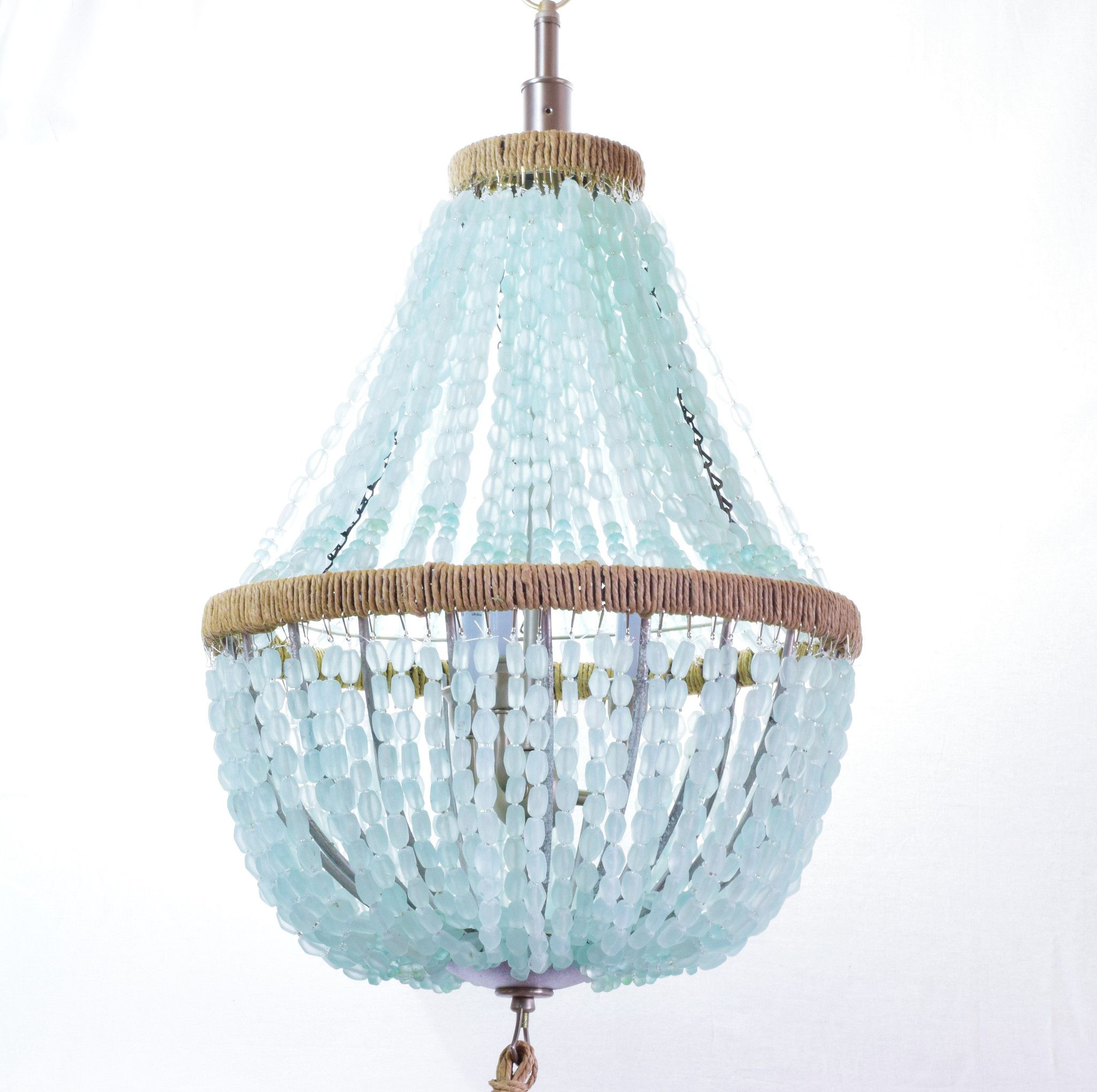 Celeste Sea Glass Chandelier Bring A Calm Energy And Richness Into Your Home Décor With The Inspired By French Empire
