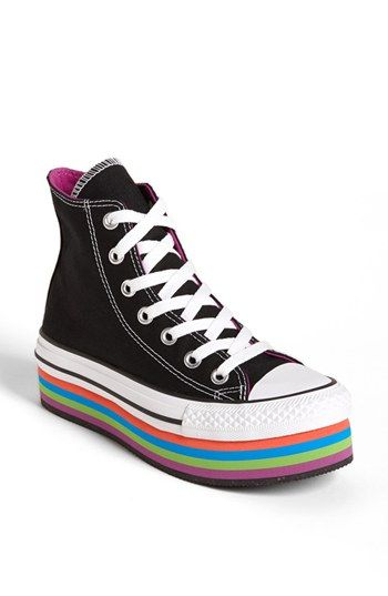 Converse Chuck Taylor® All Star® Platform High Top Sneaker (Women)  available at  Nordstrom 075735246