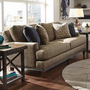 Flexsteel Ocean Sofa w Nails Interior Possibilities Pinterest