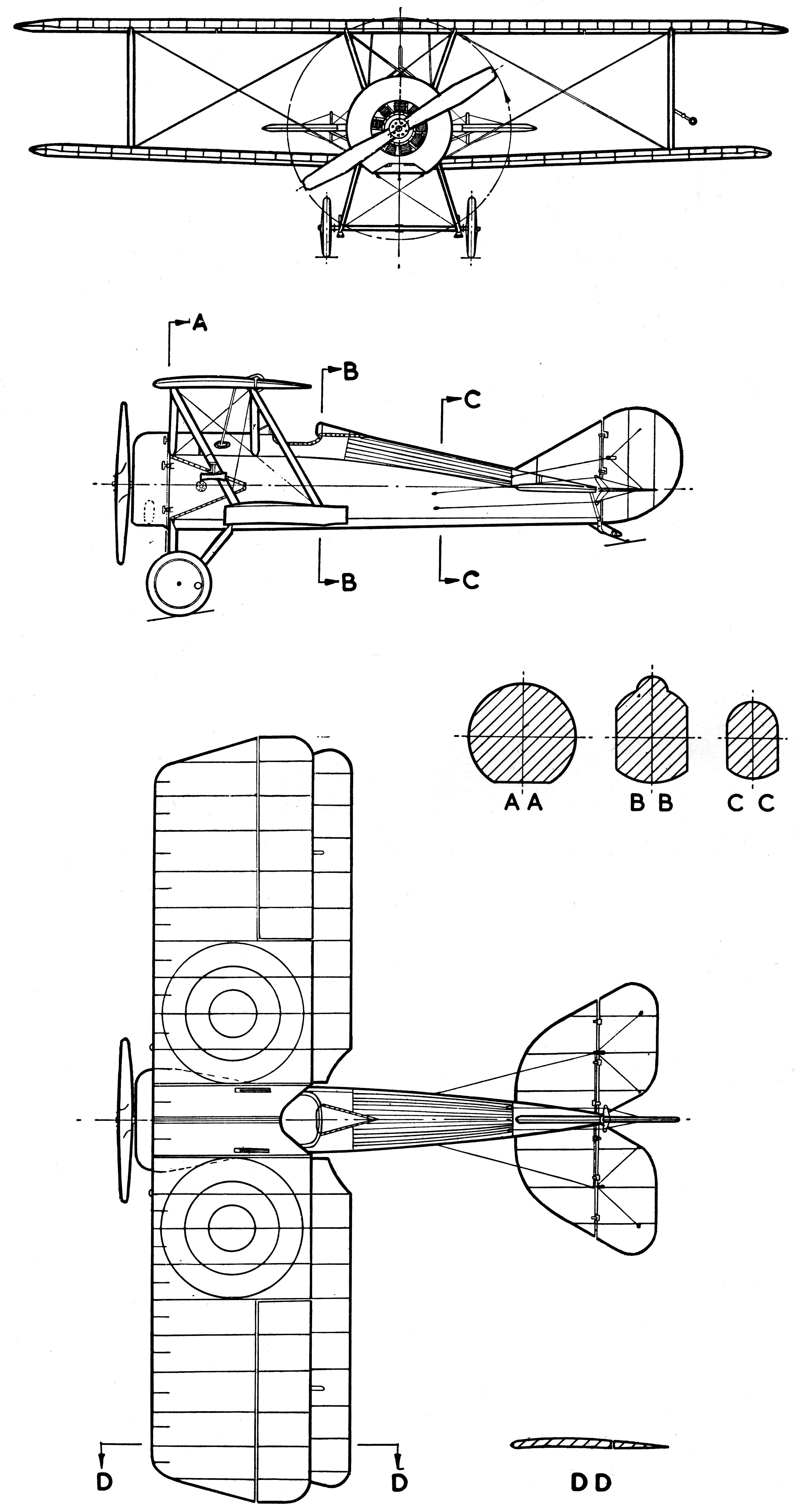Thomas Morse S 4 Blueprint