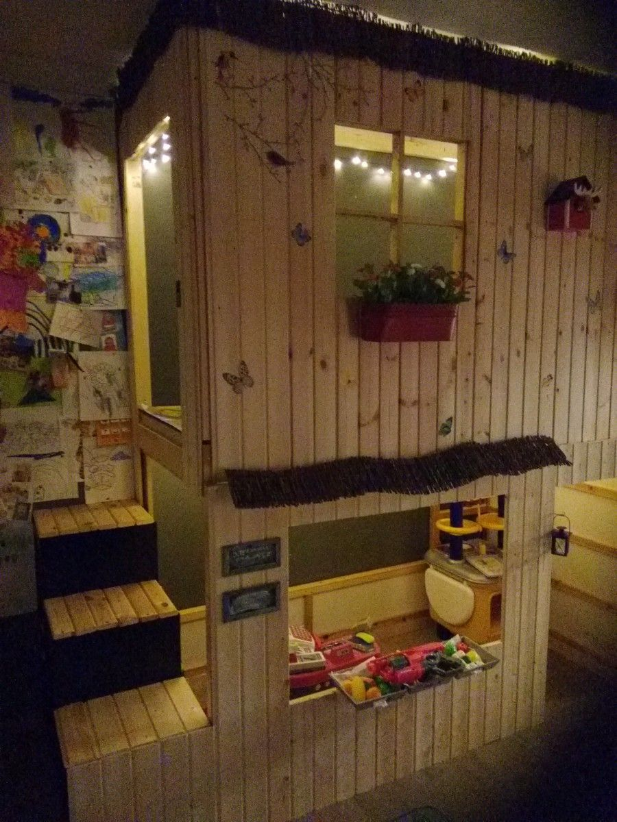 lit cabane kura 2 tages ikea hacks lit cabane lit. Black Bedroom Furniture Sets. Home Design Ideas