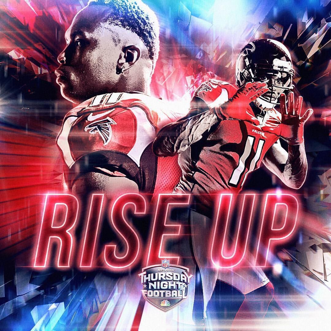 467 Likes 15 Comments Sunday Night Football On Nbc Snfonnbc On Instagram Will Julio Atlanta Falcons Wallpaper Atlanta Falcons Logo Atlanta Falcons Art