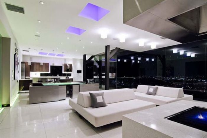 Ultra Modern Living Room effectiveness in modern interior design pictures : modern house