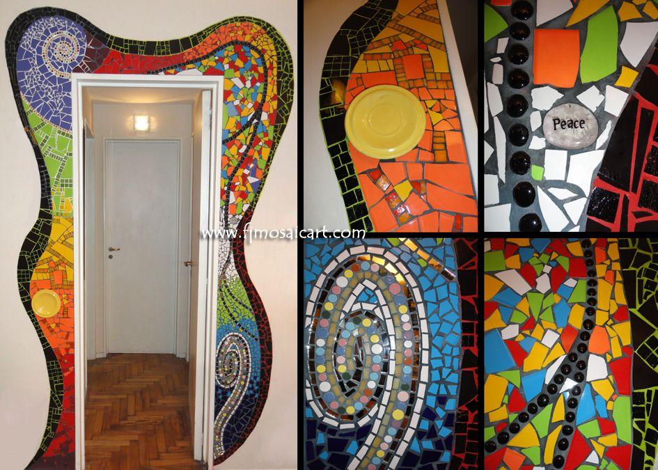 Framing of door - MOSAICO CREATIVO de fj mosaic art - fjmosaicart ...