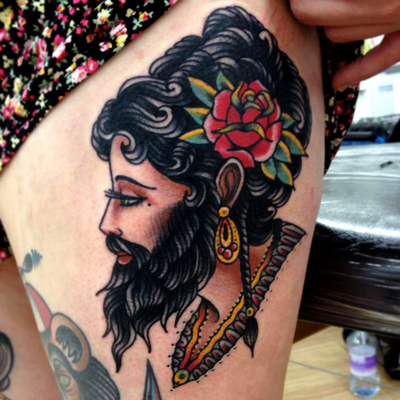 14 Beautiful Gypsy Girl Tattoos