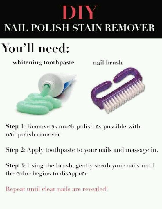 Nail Polish Stain Remover Diy Crafts Nail Polish Stain Diy