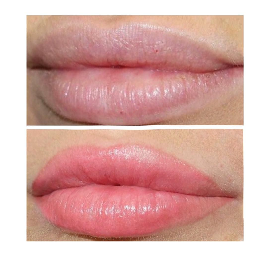 Image result for lip blushing