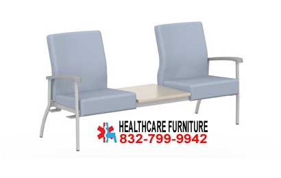 Office Lobby Chairs Sears Lounge Chair Cushions Low Back Two Seat Medical With Center Table Top Lolow By Ofs Healthcare Hospital Furniture Sales Repair Installation Services