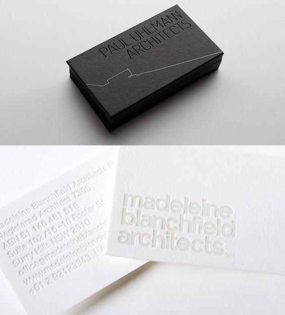 Excepcional Arquitetos: como elaborar um bom cartão de visitas | Cartões de  BH26