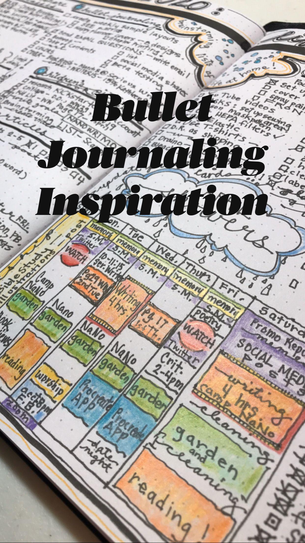 Bullet Journaling Inspiration