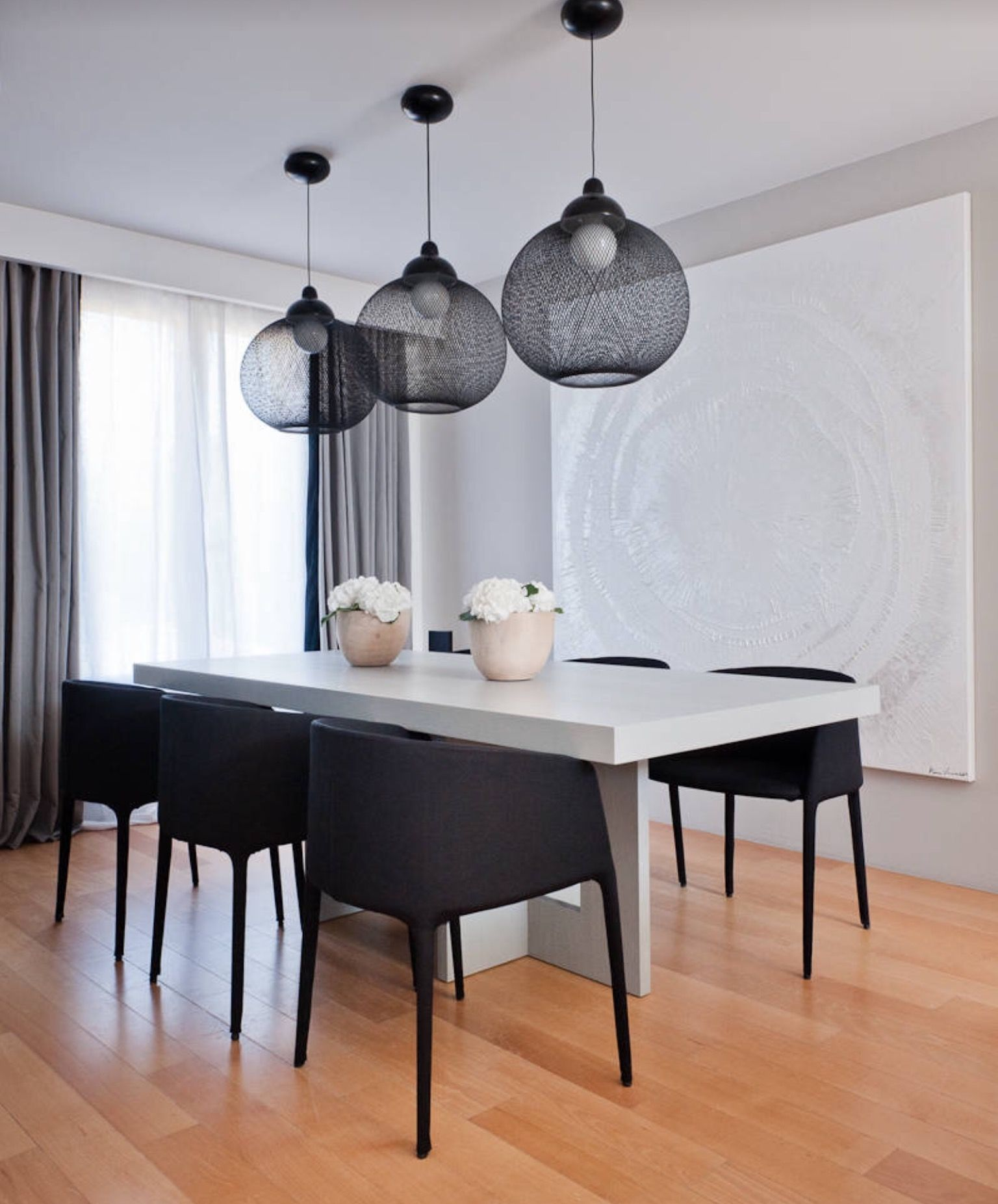 Modern Dining Room A Modern Decor Simple With Beautiful