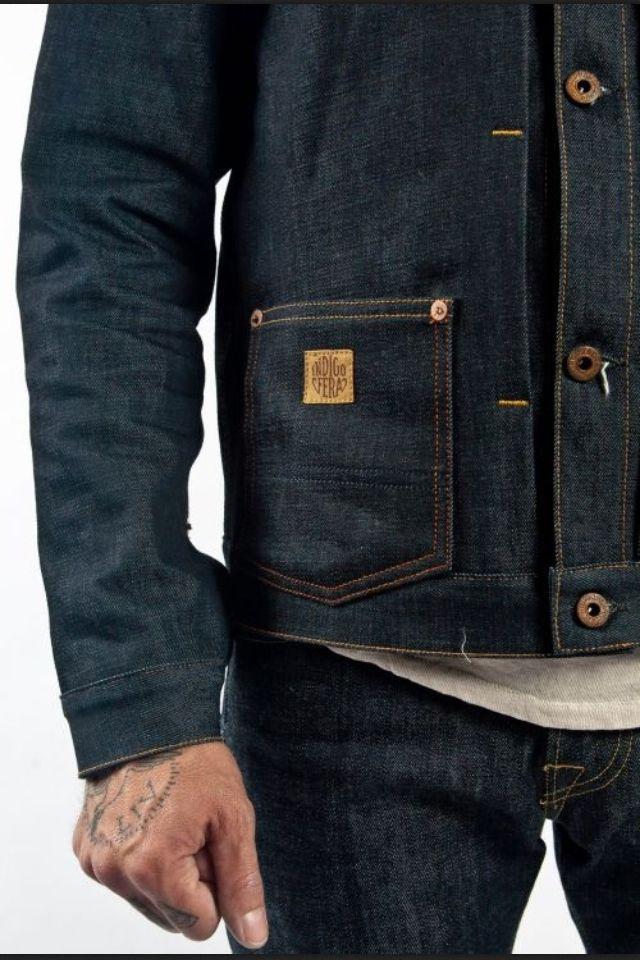 Indigofera Grant denim jacket at Burg und Schild - www.burgundschild.com