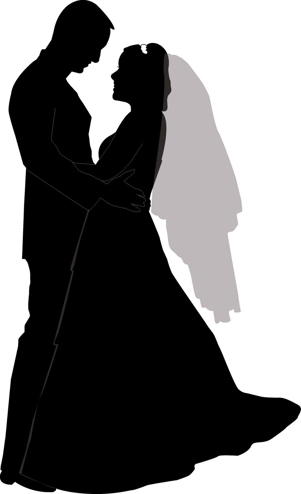 wedding couple silhouette clip art clipart pinterest rh pinterest com indian wedding couple clipart wedding couple clipart png