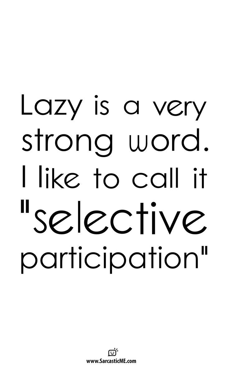 Lazy Is A Very Strong Word Unisex T-shirt