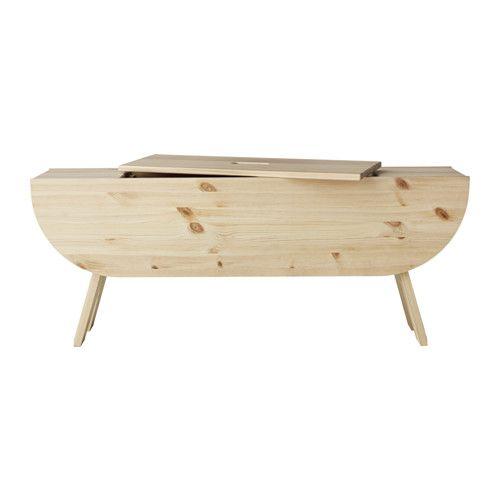 ikea ryssby 2014 banktruhe praktische aufbewahrung unter dem deckel massive kiefer ist ein. Black Bedroom Furniture Sets. Home Design Ideas