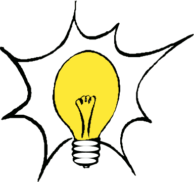 Ah ha! moment   Light bulb, Social media company, Free clip art