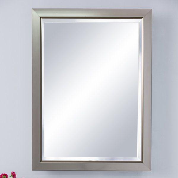 Give Your Bathroom A Unique Touch With This Classic Medicine Cabinet That Has A Beautiful Fra Surface Mount Medicine Cabinet Frames On Wall Wall Mounted Mirror