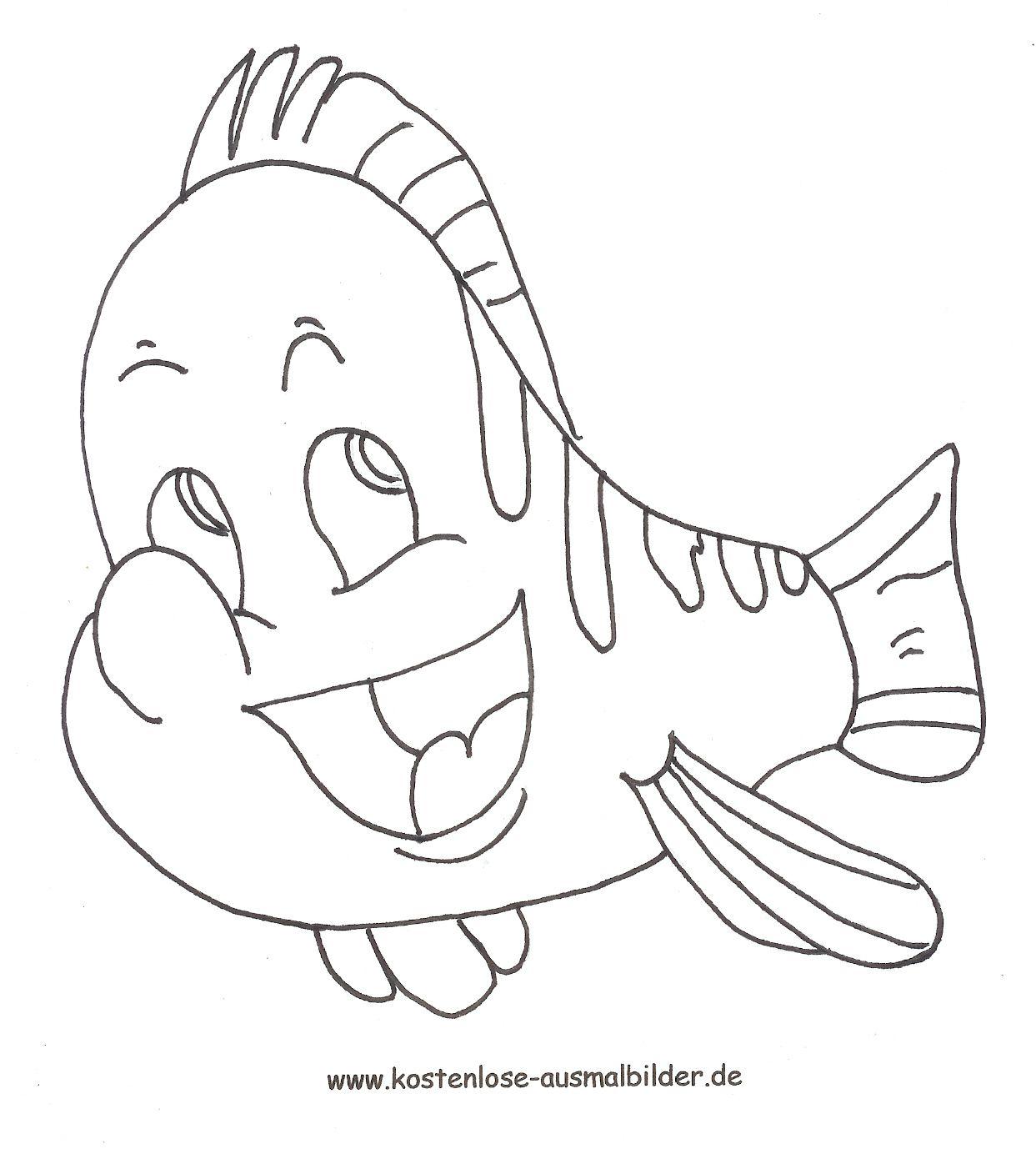 Malvorlagen und Ausmalbilder für Erwachsene und Kinder Weitere Ausmalbilder und Malvorlagen zum Thema Fisch von Arielle