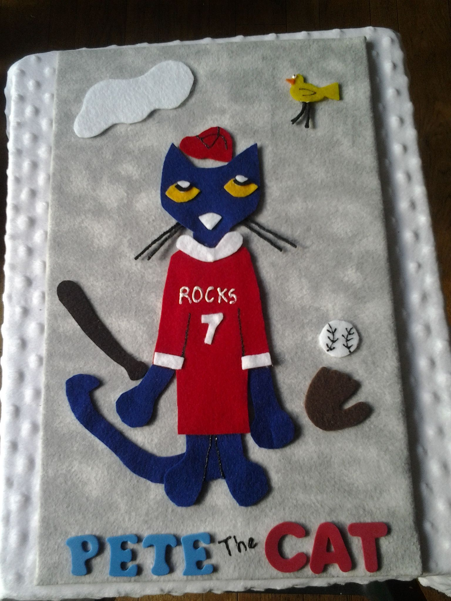 Pete The Cat Play Ball Felt On Flannel Story Board From Www Carolcodesigns Etsy Com Unique Crafts Unique Items Products Pete The Cat