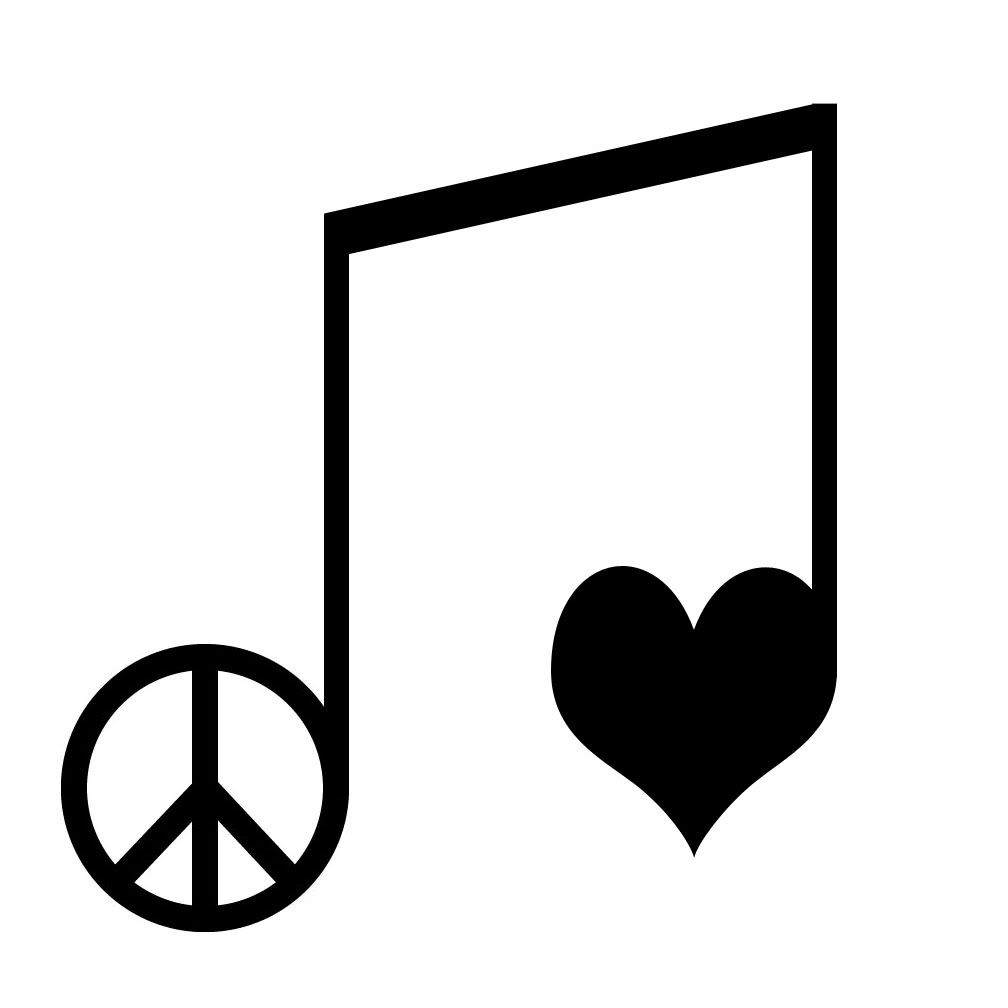 Peace Love Music Tattoo Ideas Love Music Tattoo Peace Tattoos Peace Sign Tattoos