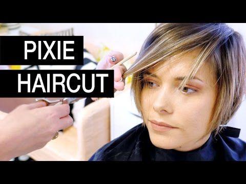 Pixie Haircut Transformation:  Michele's Before an