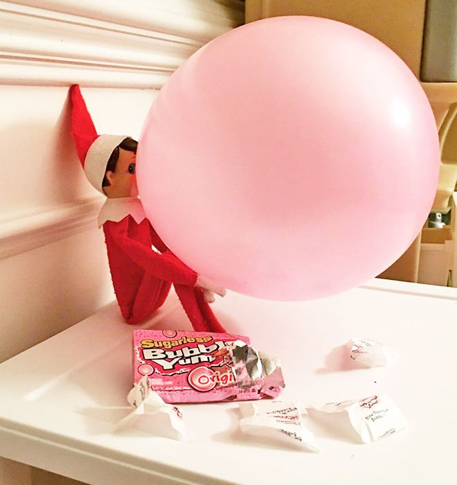 10 hysterical new Elf on the Shelf ideas #elfontheshelfideas