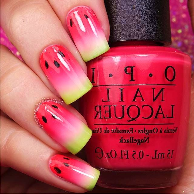 35 cutest nail designs for summer beauty nails and make up 35 cutest nail designs for summer prinsesfo Gallery