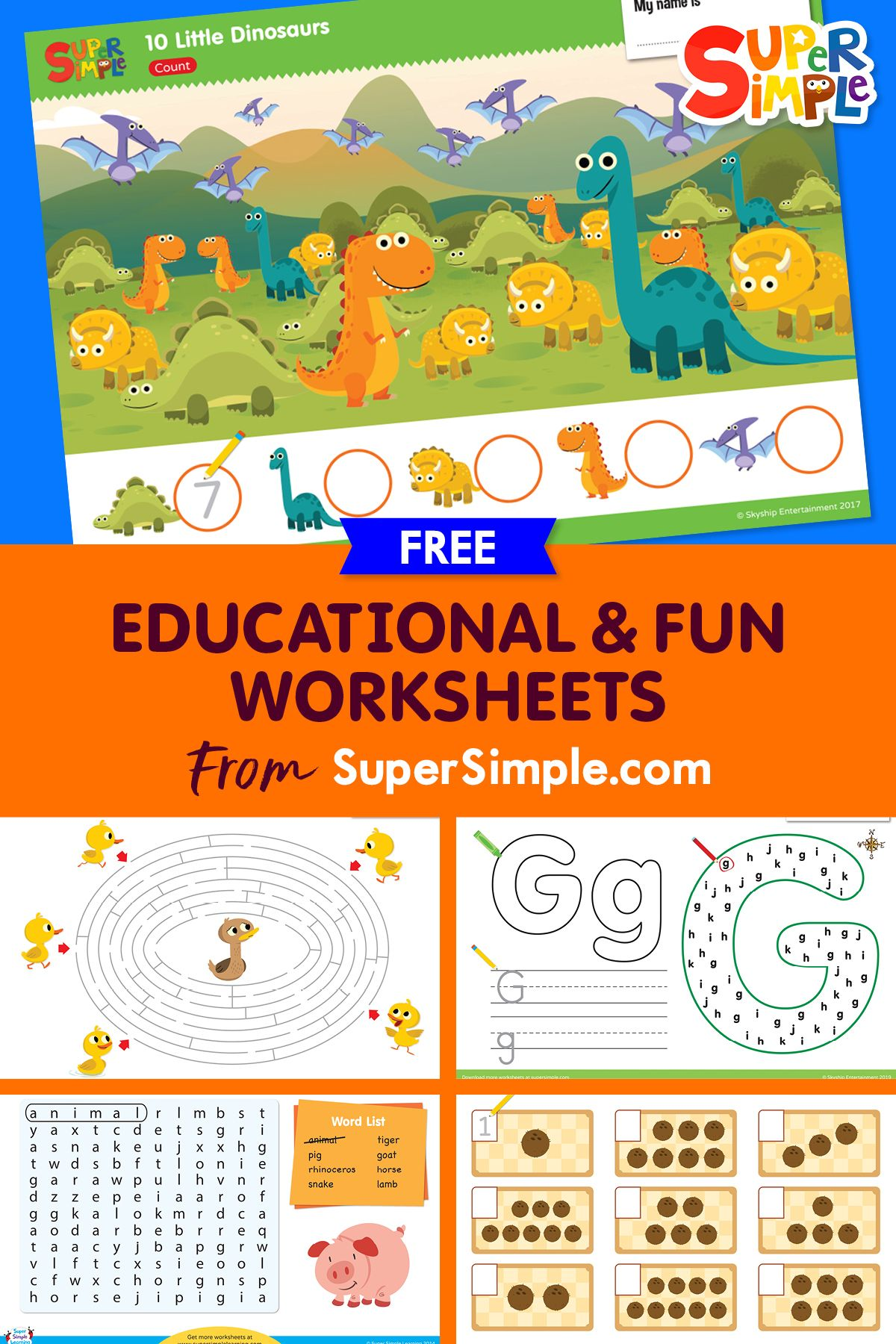 Kids Worksheets Teaching Resources Free Printables