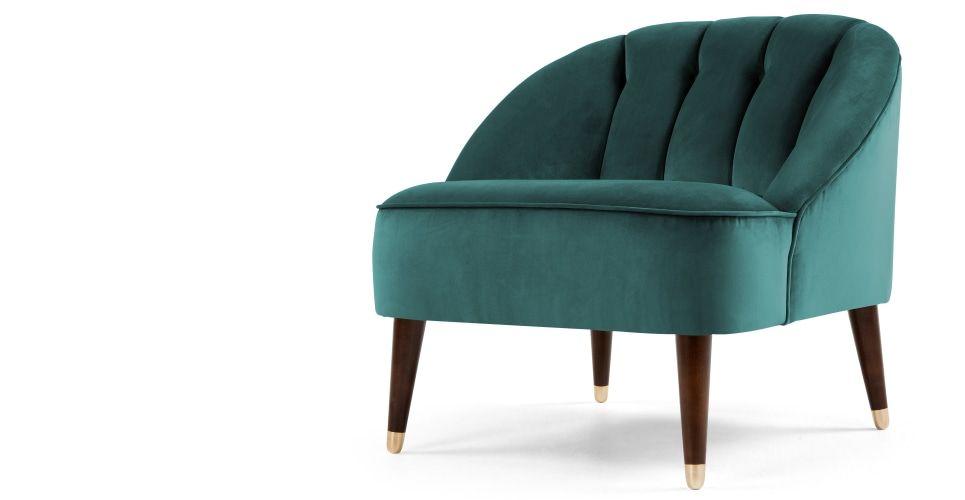 Phenomenal Margot Accent Chair Peacock Blue Velvet In 2019 Arm Chair Dailytribune Chair Design For Home Dailytribuneorg