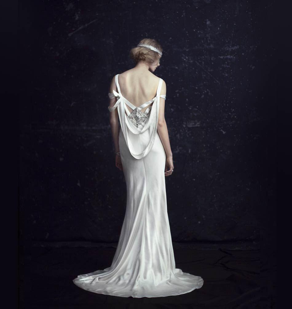 All That Jazz: \'20s Inspired Wedding Dresses | Art deco wedding ...