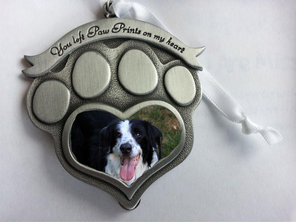 Pet Memorial Photo Frame Ornament - \