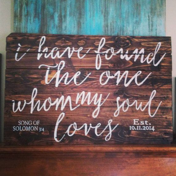 Large Statement Piece - Pallet Sign - 2x3 Feet - Bedroom Decor