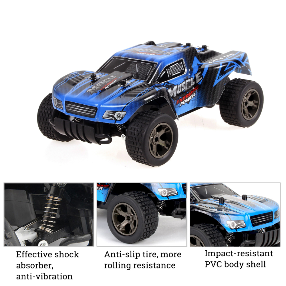 120 High Speed RC Car 2.4GHz 4WD OffRoad Monster Truck