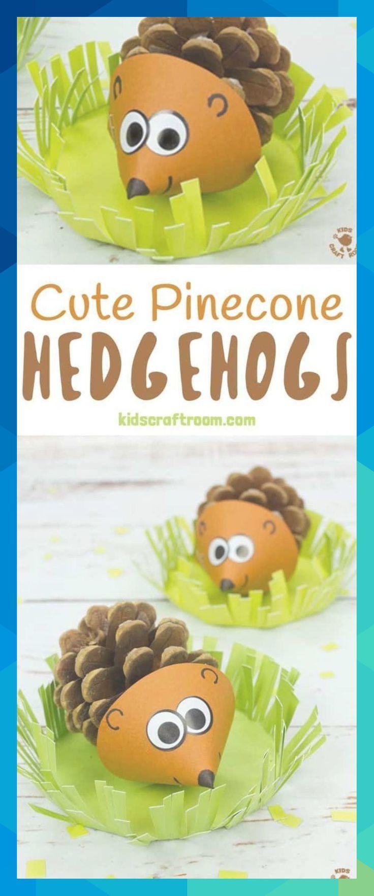 pinecone pinecones hedgehog hedgehogs hedgehogcrafts