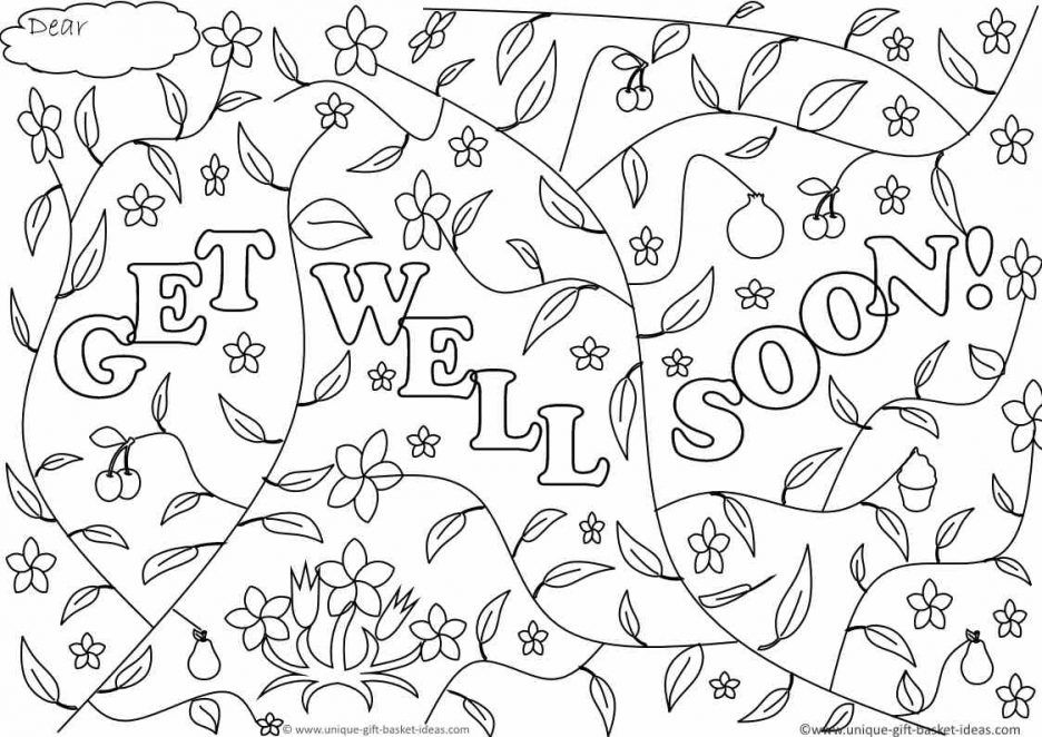 adult Get Well Soon Printable Coloring Pages Get For Ucwordsget well ...