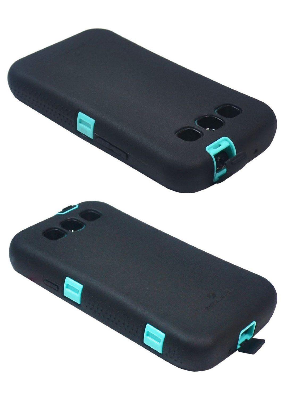 big sale ed3b0 7bde0 ZeroLemon Samsung Galaxy S4 ZeroShock Rugged Sparkle Mint Teal ...