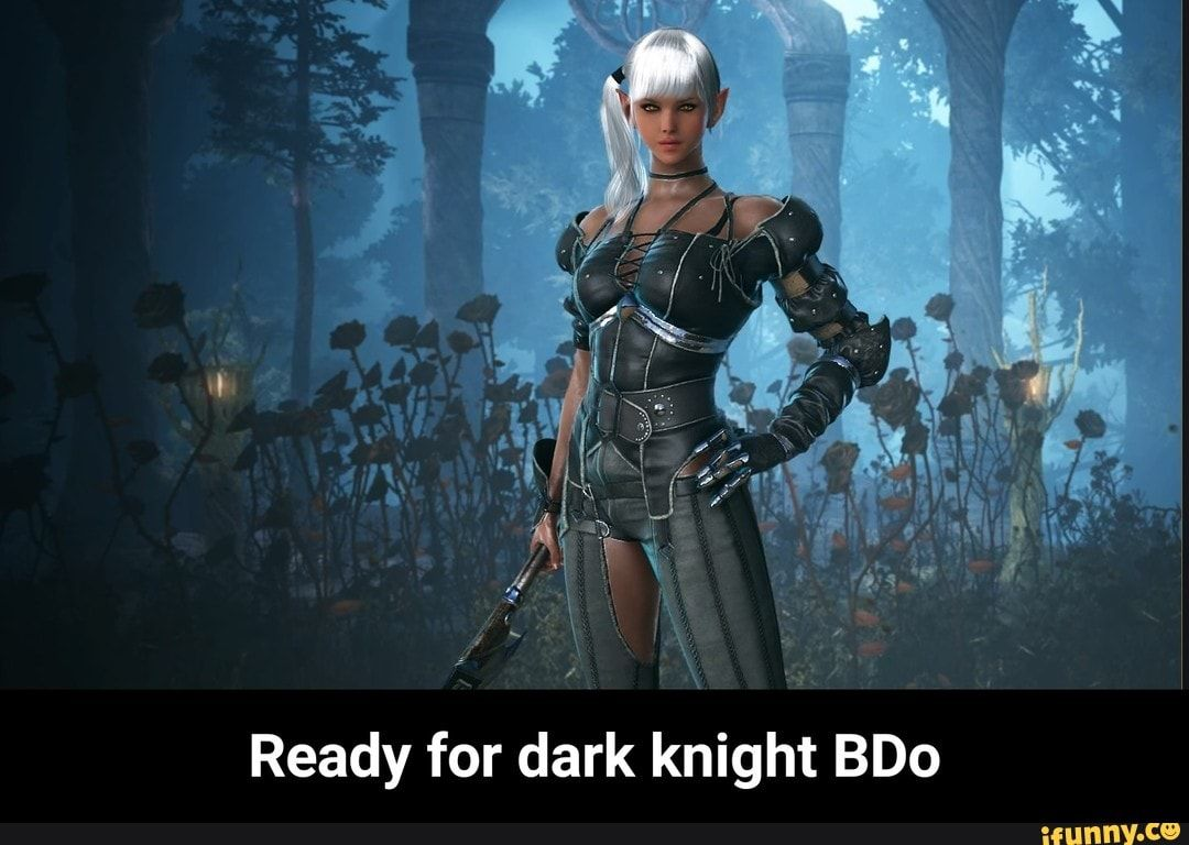 I Ready For Dark Knight Bdo Ready For Dark Knight Bdo Ifunny