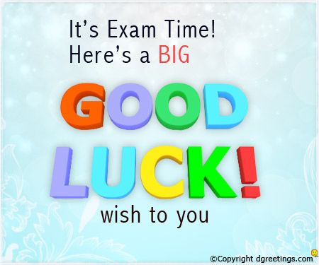 Pin by Kshama Saheed on birthday cards Pinterest Exam time - best wishes for exams cards