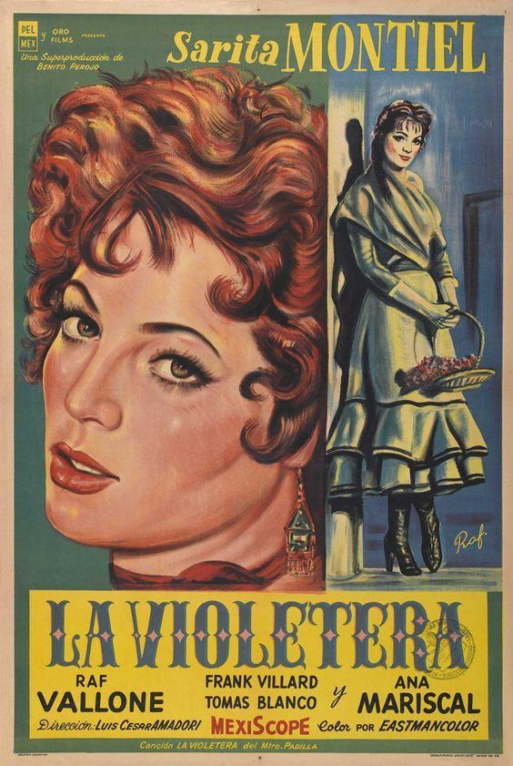 Precioso Cartel De Una Película Entrañable Con Un Fenomenal Sarita Montiel Colección De Carteles Antiguos De Cin Cine De Barrio Carteles De Cine Afiche De Cine