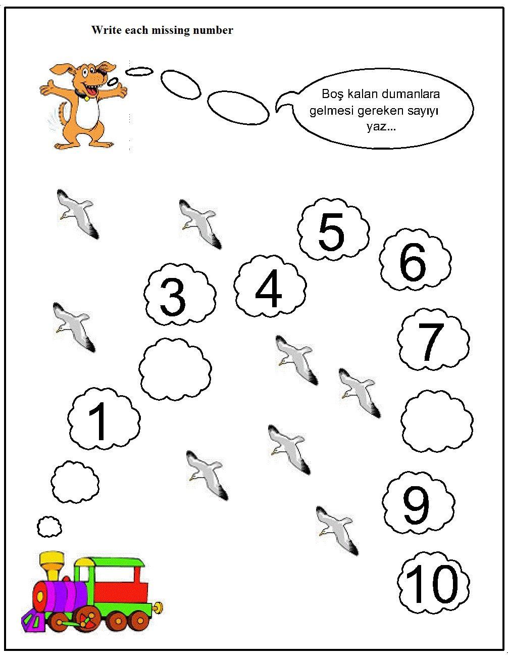 Missing Number Worksheet For Kids 12 Missing Number Worksheets Number Worksheets Kindergarten Worksheets Printable Write missing number worksheets