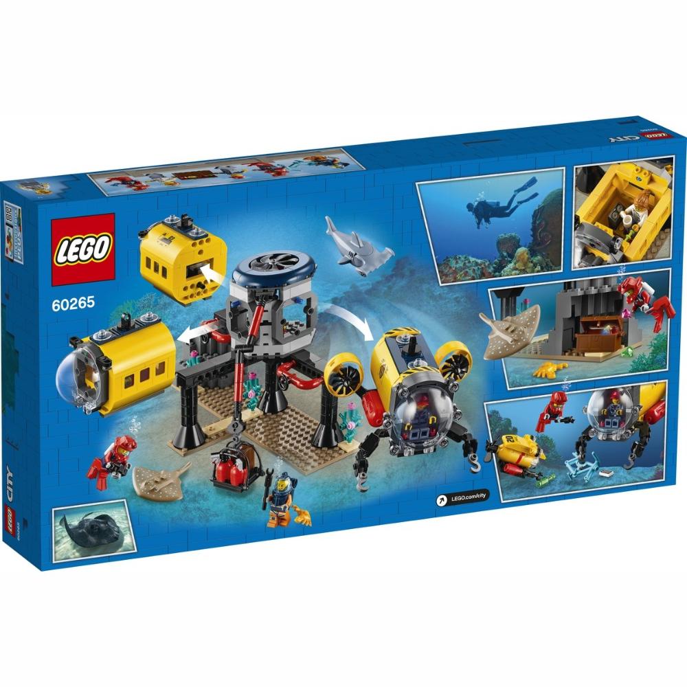Lego City Oceans Exploration Base 60265 Kmart In 2020 Lego City Lego City Sets Lego For Kids