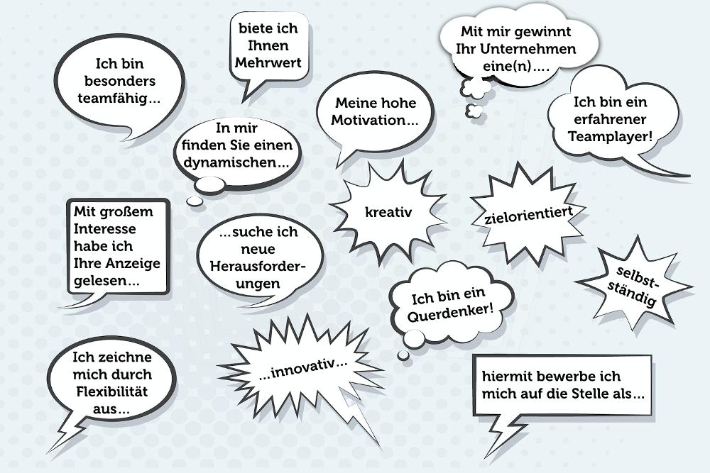 Die schlimmsten Floskeln in der Bewerbung: Diese Phrasen und Sätze ...