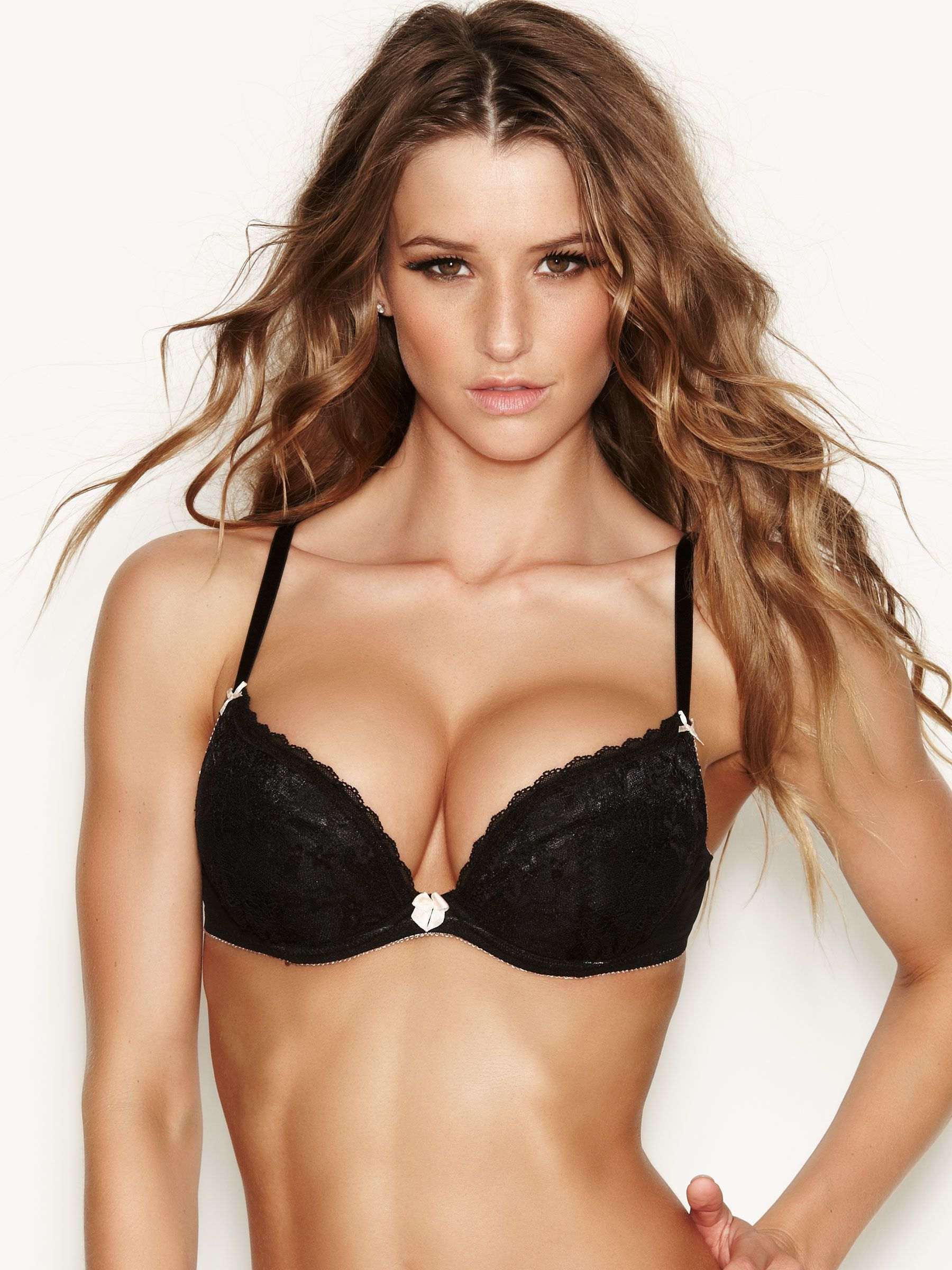 21c5edf4c2352 The Sexy Lace Black Plunge Bra is designed to give you an ultra-enhanced  cleavage