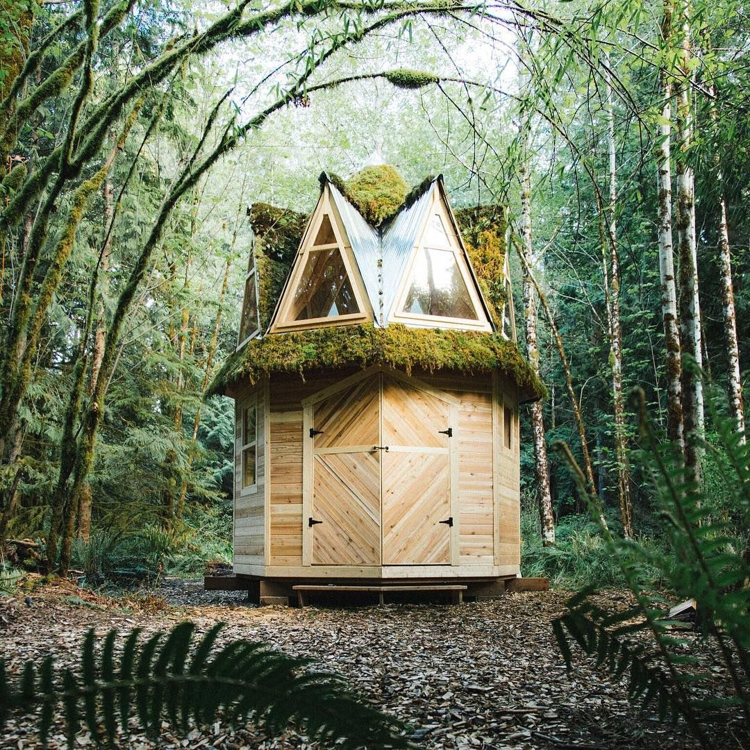 nature inspired tiny cabins by jacob witzling tinycabins