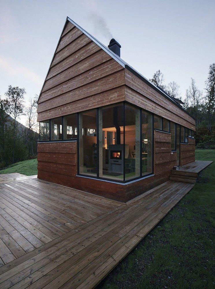 Cabin Laksvatn Maisons modulaires, Construction bois et Modulaire