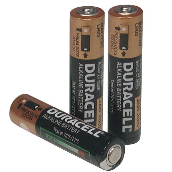 Duracell Aaa Batteries Package Of 3 Duracell Aaa Batteries Batteries