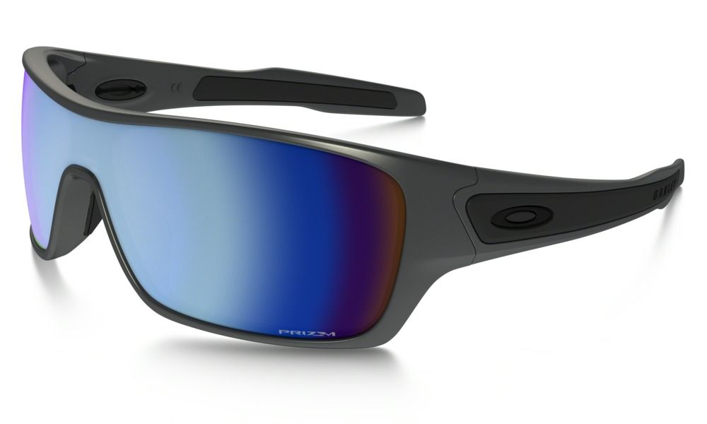 246f94eb971 Shop Oakley Turbine™ Rotor PRIZM™ Deep Water Polarized Steel Collection in  STEEL   PRIZM Deep Water Polarized at the official Oakley online store.