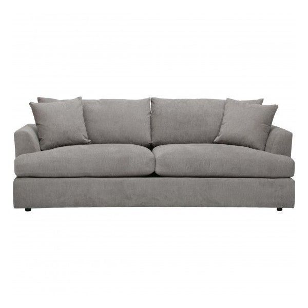 Andre Sofa Queen Beds Graceland Slate Liked On Polyvore Featuring Home Furniture Sofas And Angled